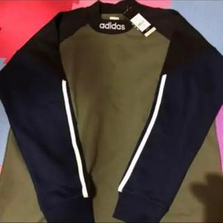 アディダス(adidas)の新品未使用タグ付き adidas シャツ(Tシャツ/カットソー(七分/長袖))