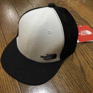 ザノースフェイス(THE NORTH FACE)のノースフェイス キッズ用キャップ ブラック メッシュ 54cm #31(帽子)