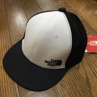 ザノースフェイス(THE NORTH FACE)のノースフェイス キッズ用 キャップ ブラック メッシュ 54cm  #32(帽子)
