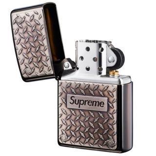 シュプリーム(Supreme)の19SS Supreme Diamond Plate Zippo(タバコグッズ)