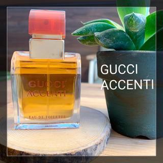 グッチ(Gucci)の【未使用】GUCCI ACCENTI アチェンティ オードトワレ 30ml(ユニセックス)