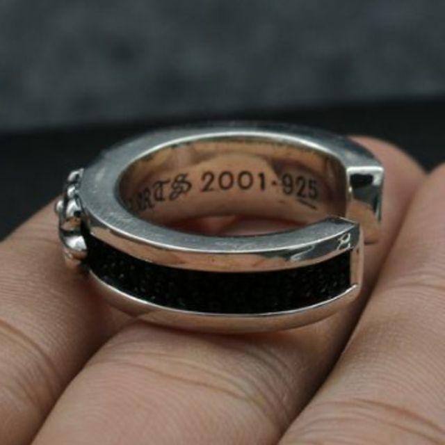 Chrome Hearts(クロムハーツ)のK180クロムハーツリング メンズのアクセサリー(リング(指輪))の商品写真