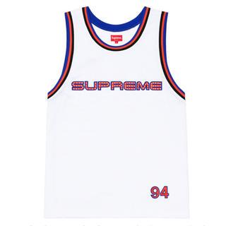 シュプリーム(Supreme)のSupreme Rhinestone Basketball Jersey S(タンクトップ)