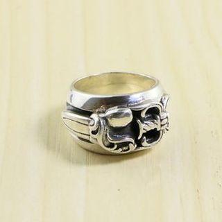 クロムハーツ(Chrome Hearts)のK179クロムハーツリングダガー(リング(指輪))