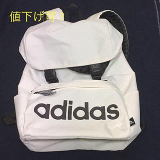 アディダス(adidas)のアディダス メンズ リュック ホワイト(バッグパック/リュック)