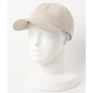 ビューティアンドユースユナイテッドアローズ(BEAUTY&YOUTH UNITED ARROWS)の美品 BEAUTY&YOUTH 帽子 キャップ ベージュ ユナイテッドアローズ(キャップ)