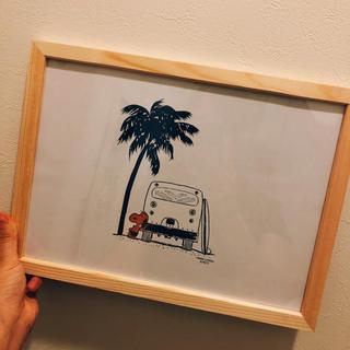 ロンハーマン(Ron Herman)の【期間限定お値下げ中!】スヌーピー ♡ ポスター  A4サイズ  (インテリア雑貨)