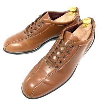 トッズ(TOD'S)のTOD'S 約23.5cm ドライビングシューズ スニーカー レザー 本革 革靴(スニーカー)