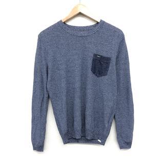 ディーゼル(DIESEL)の ディーゼル DIESEL メンズファッション 長袖 カットソー 青 トレーナ(Tシャツ/カットソー(七分/長袖))