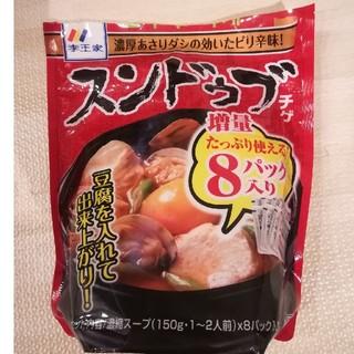 コストコ(コストコ)のコストコ スンドゥブ 6パック(レトルト食品)