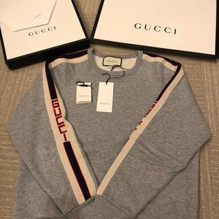 グッチ(Gucci)のグッチ サイドライン スウェット トレーナー(スウェット)
