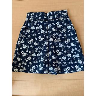 マジェスティックレゴン(MAJESTIC LEGON)の花柄スカート(ミニスカート)