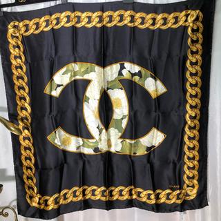 シャネル(CHANEL)のCHANEL シャネル スカーフ 正規品(バンダナ/スカーフ)