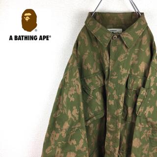 アベイシングエイプ(A BATHING APE)のA BATHING APE 90s ジャケット デジカモ柄(ミリタリージャケット)