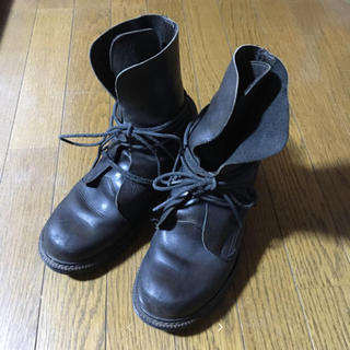 ダークビッケンバーグ(DIRK BIKKEMBERGS)のダークビッケンバーグ 革紐ブーツ(ブーツ)