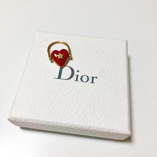 クリスチャンディオール(Christian Dior)の♡ディオール Dior リング ハート レッド 星 ゴールド 希少♡(リング(指輪))