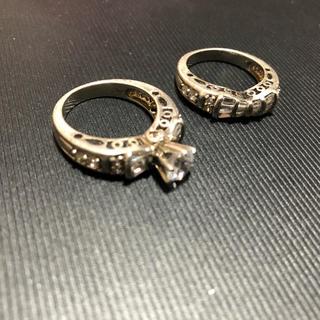 アヴァランチ(AVALANCHE)のブリンブリン リング 17号 2個セット(リング(指輪))