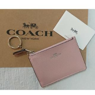 コーチ(COACH)の新品未使用♪コーチ パス・コインケース カーネーション(コインケース)