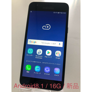 SAMSUNG - [新品] Samsung Galaxy J3 Orbit(Android8.0)