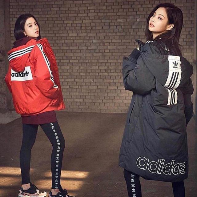 adidas(アディダス)の新作adidas originals トレフォイルロゴ テープ レギンス新品 レディースのレッグウェア(レギンス/スパッツ)の商品写真