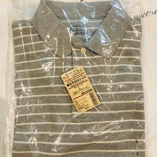 ムジルシリョウヒン(MUJI (無印良品))の無印良品 メンズポロシャツ Lサイズ(ポロシャツ)