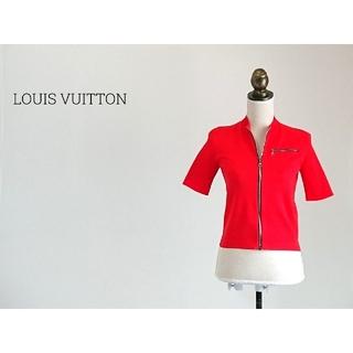 ルイヴィトン(LOUIS VUITTON)のLOUIS VUITTON ルイヴィトン 半袖カットソー レディース(カットソー(半袖/袖なし))