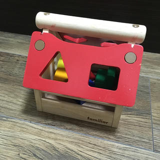 ファミリア(familiar)のファミリア 木のおもちゃ(知育玩具)