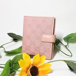 グッチ(Gucci)の正規品 GUCCI グッチ 手帳カバー ピンク ブランド 財布 バッグ 小物(手帳)