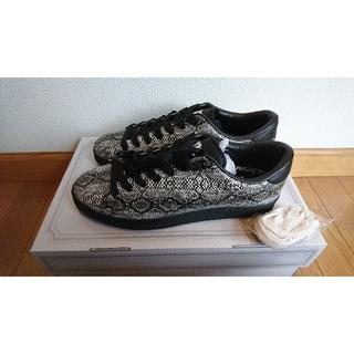 アベイシングエイプ(A BATHING APE)の新品 定価18000円APE BAPESTA 蛇柄 US10 28cm(スニーカー)