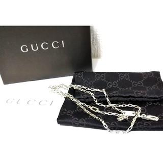 グッチ(Gucci)の正規品 GUCCI/グッチ シルバー925 ネックレスチェーン(ベネチアン)(ネックレス)