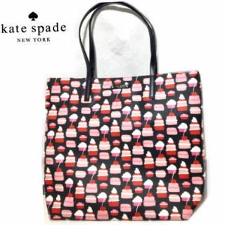ケイトスペードニューヨーク(kate spade new york)の新品 ケイトスペード ニューヨーク 日本未入荷 カップケーキ(トートバッグ)