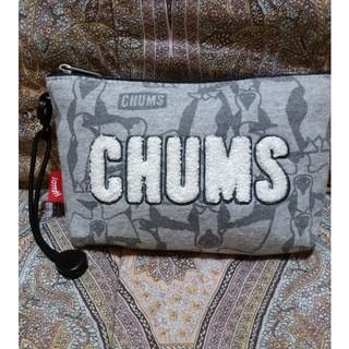 チャムス(CHUMS)のチャムス CHUMS デザインプリントもこもこポーチ(ポーチ)