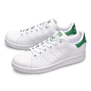 アディダス(adidas)のスタンスミス グリーン 25センチ(スニーカー)