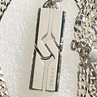 グッチ(Gucci)の美品 GUCCI ノットインフィニティネックレス(ネックレス)