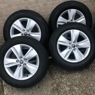 トヨタ(トヨタ)の60系ハリアー エレガンス 純正 17インチ ホイール付タイヤ 4本セット 美品(タイヤ・ホイールセット)