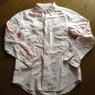 ラルフローレン(Ralph Lauren)のラルフローレン ピンクシャツ(シャツ/ブラウス(長袖/七分))