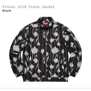 Supreme - 19SS Supreme Floral Silk Track Jacket L