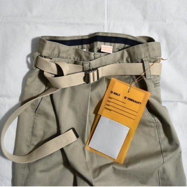 JOURNAL STANDARD(ジャーナルスタンダード)のMAISON EUREKA  ヴィンテージ リメイクチノ メゾンエウレカ レディースのパンツ(チノパン)の商品写真