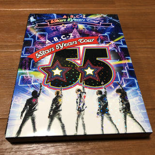 A.B.C.-Z - ABCZ 5Stars 5years tour 初回限定盤 DVD