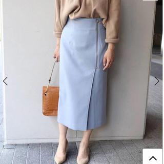 ノーブル(Noble)のNOBLE ジップタイトスカート(ロングスカート)