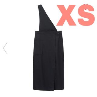 ジーユー(GU)のGU ジーユー サス付きナローミディスカート 即完売 XS(ひざ丈ワンピース)