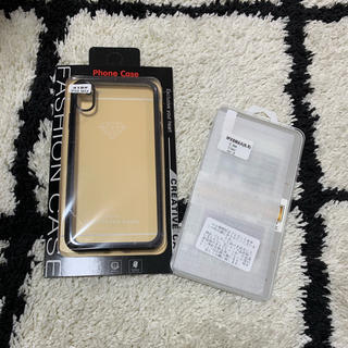 アイフォーン(iPhone)のiPhoneケース♡XSMAX 保護フィルム付き(モバイルケース/カバー)