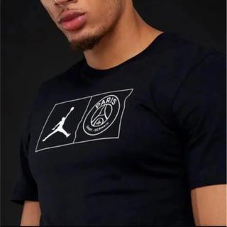ナイキ(NIKE)のPSG ジョーダン コラボ tシャツ パリ・サンジェルマン(Tシャツ/カットソー(半袖/袖なし))