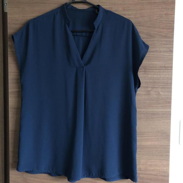 GU(ジーユー)のジーユースキッパーシャツ レディースのトップス(シャツ/ブラウス(半袖/袖なし))の商品写真
