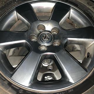トヨタ(トヨタ)のハリヤー純正ホイール タイヤ付き(タイヤ・ホイールセット)