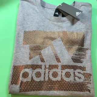 アディダス(adidas)のadidas....紳士半袖Tシャツ……(Mサイズ)…新品未使用(Tシャツ/カットソー(半袖/袖なし))