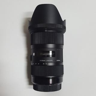 SIGMA - シグマ レンズ 18-35mm  f1.8  キヤノン ef-s用