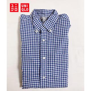 ユニクロ(UNIQLO)のUNIQLO ギンガムチェックシャツ M(シャツ)