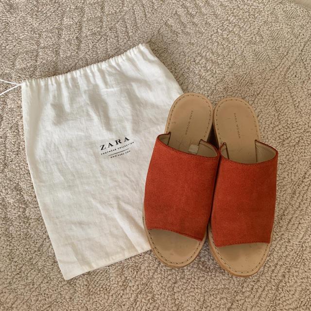 ZARA(ザラ)のZARA ウェッジソールサンダル レディースの靴/シューズ(サンダル)の商品写真