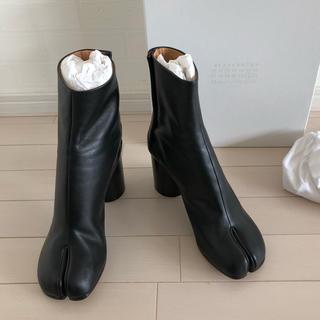 マルタンマルジェラ(Maison Martin Margiela)の【新品未使用】40(25.0) メゾンマルジェラ Tabi ブーツ ブラック(ブーツ)